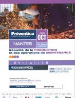 SALONS//CONGRES : PREVENTICA 2014 à NANTES
